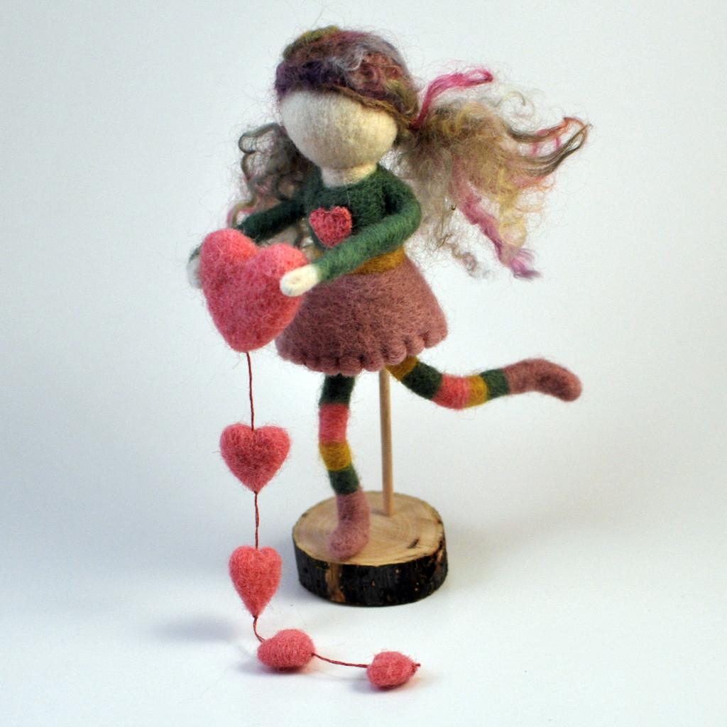 Needle Felting Workshops: Valentines