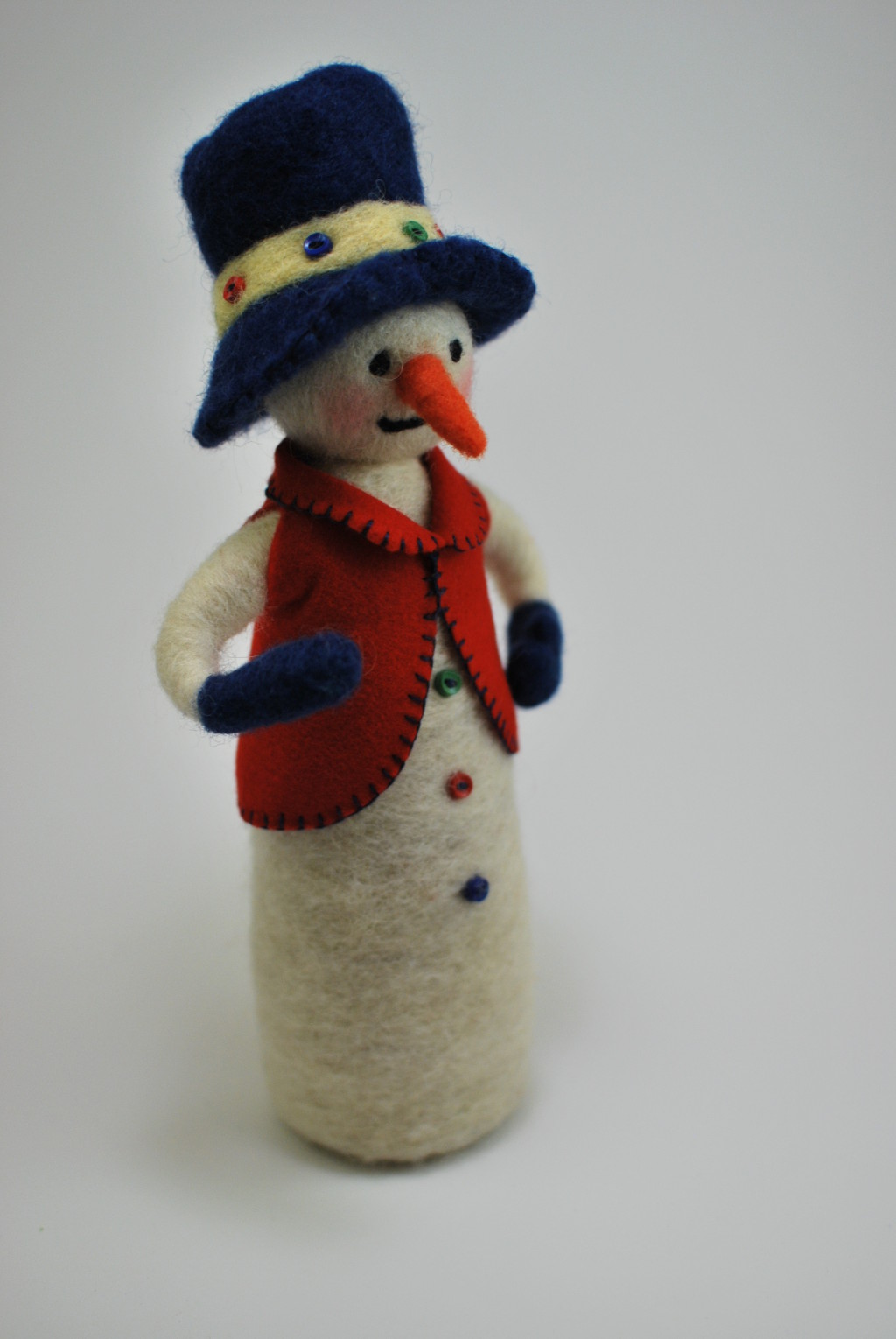 Another needle felted snowman