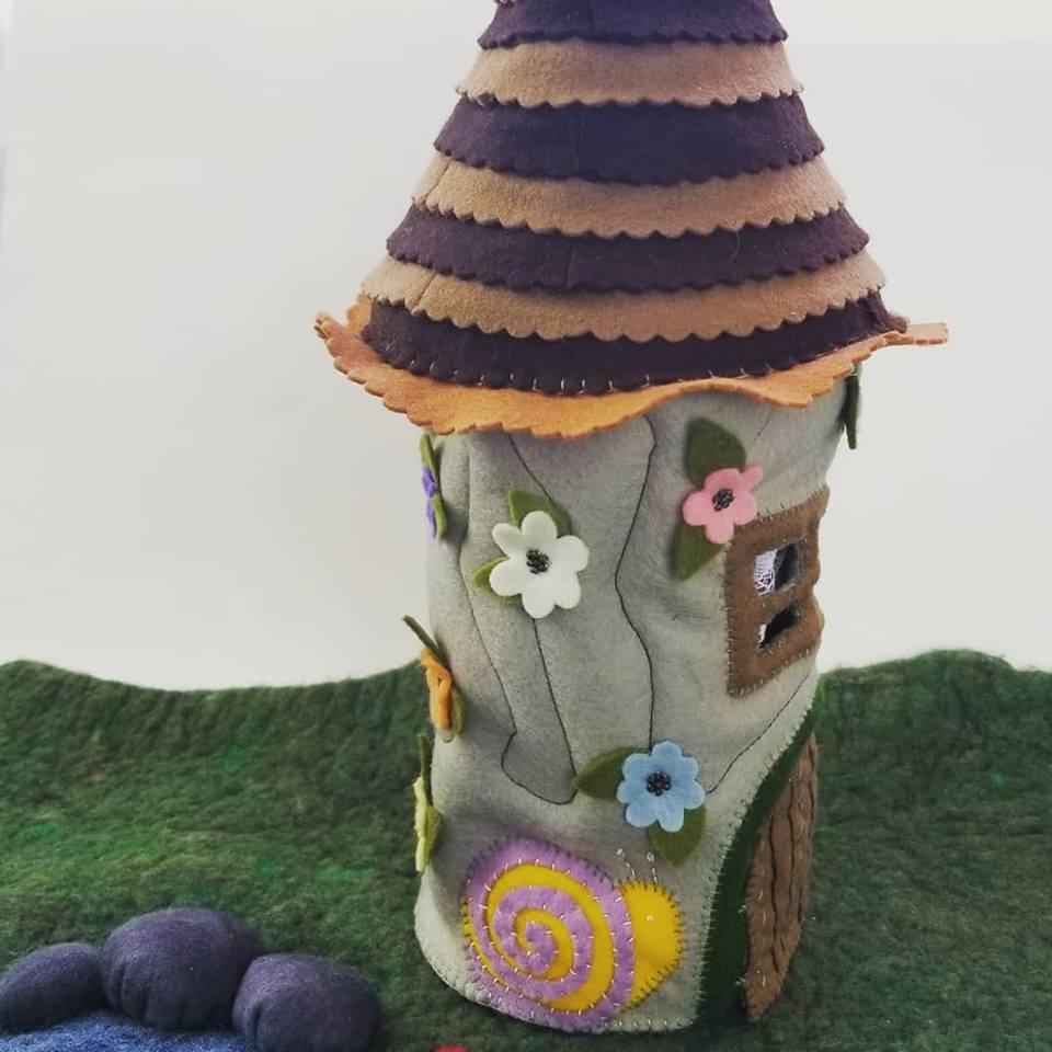 Felt Fairy House