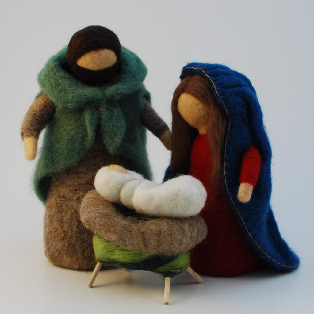 Waldorf Nativity Set – Take 1